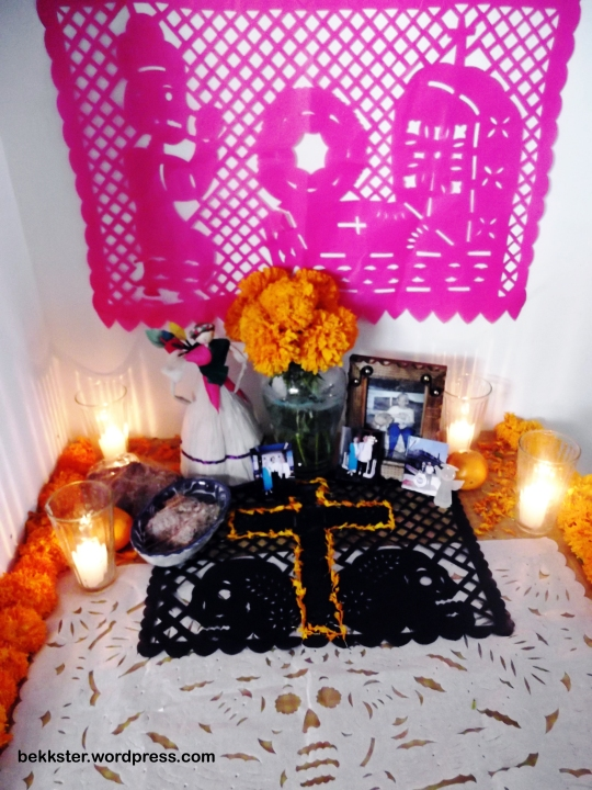 The ofrenda that I made for her.