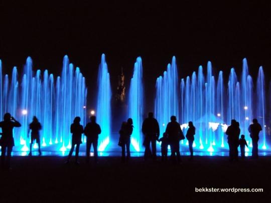 All new, fancy shmancy fountain!