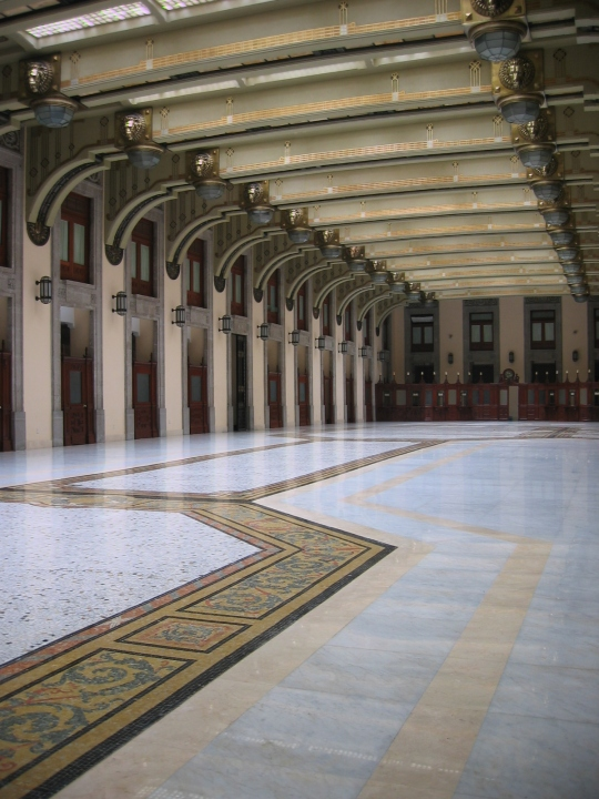 Municipal Palace in Mexico City.
