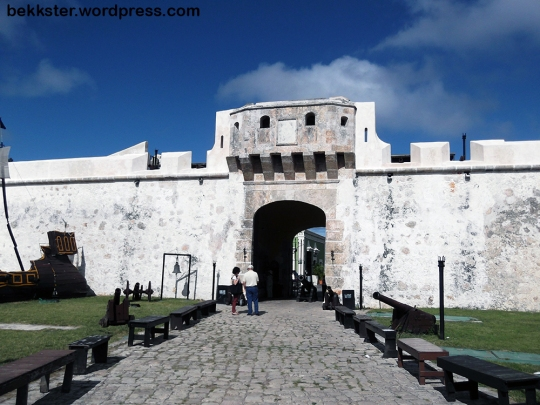 Campeche used to be the target of so many pirate attacks that a wall, and several forts, were built all the way around the city.