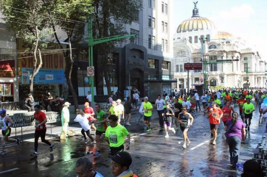 The Mexico City marathon is an enormous race, but there are tons of smaller races there throughout the year.