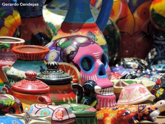 Souvenir ceramics.