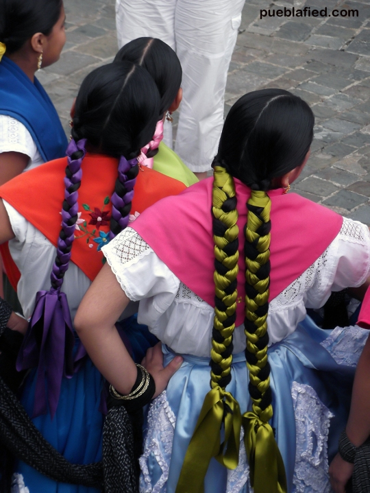 The start of the Guelaguetza festival in July.
