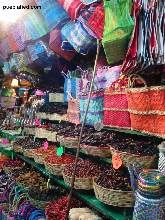 One of the markets where you can buy just about anything.