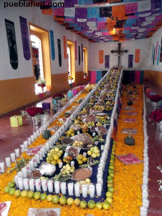 Ofrenda Chignahuapan