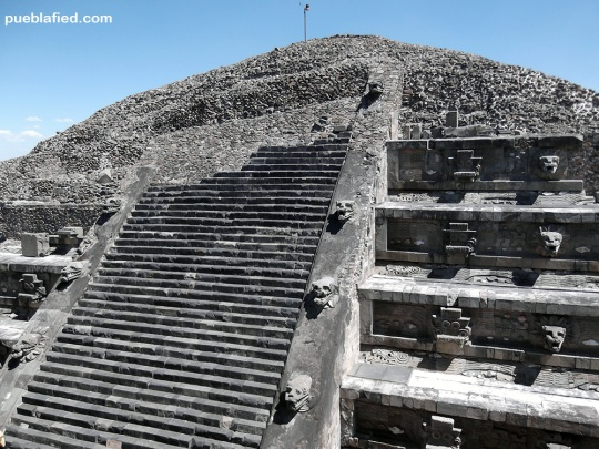 This reconstructed pyramid has the most detail.