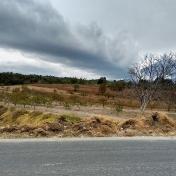 Winter ride near San Nicolas de los Ranchos