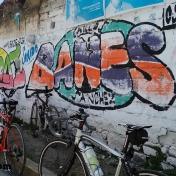 Graffitti on the way to Tianguismanalco